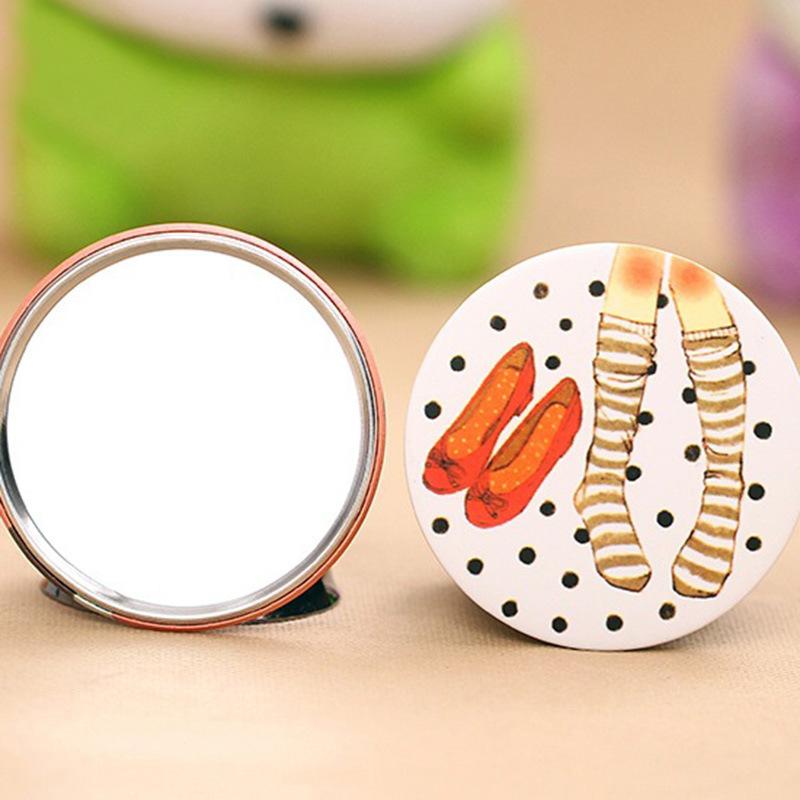 正品 韩版可爱甜美小镜子 时尚清新化妆镜随身便携镜子 淘宝赠品 颜色