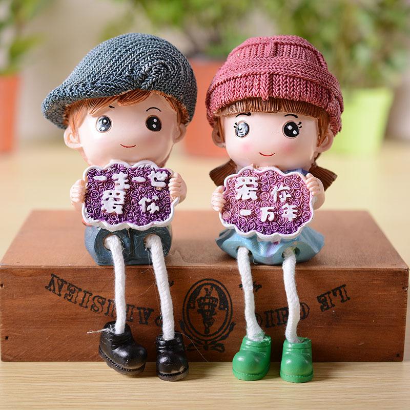 可爱男女娃娃图片