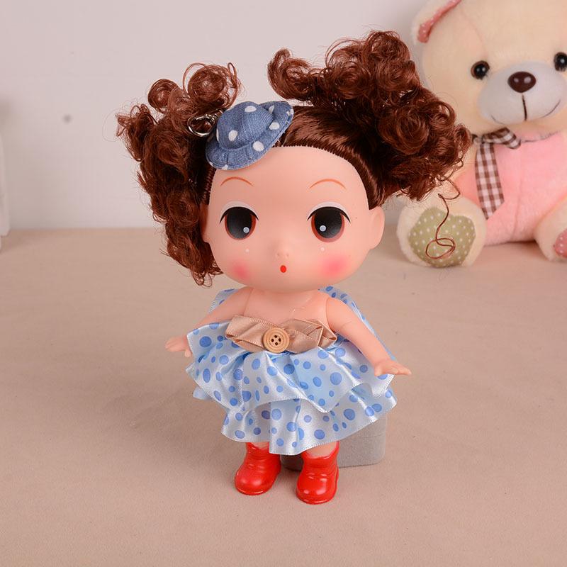 正品 迷糊娃娃,大号公仔可爱娃娃,手提包单肩包配饰,玩儿童具 颜色混